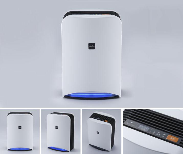 深紫外線LED技術による空間除菌消臭装置